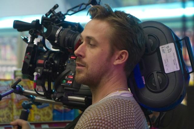 Gosling sul set