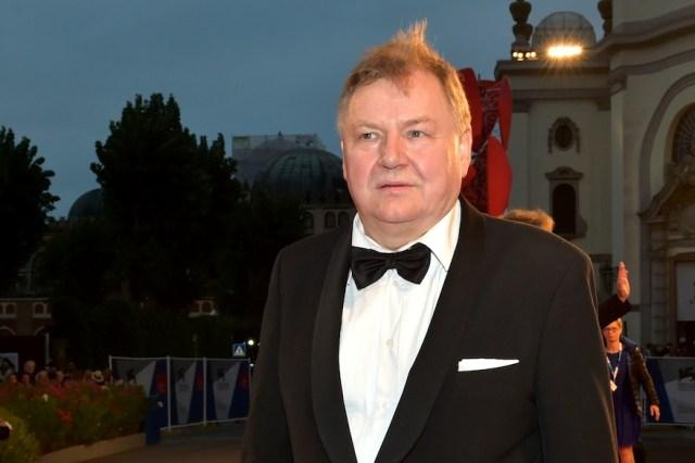 Roy Andersson, il regista del film vincitore, sul red carpet