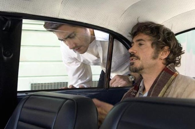 Robert Downey Jr. e Jake Gyllenhaal in 'Zodiac'