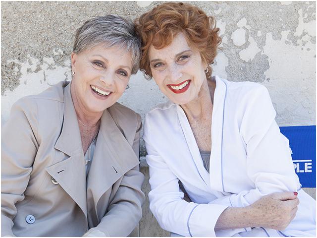 Virna Lisi e Marisa Paredes