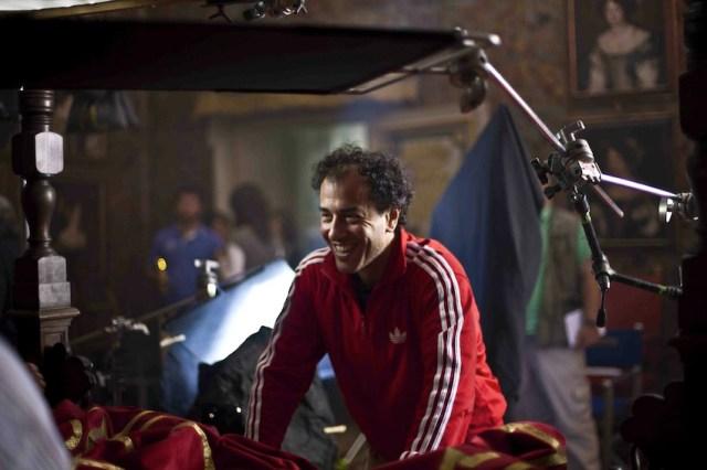 Matteo Garrone sul set di 'Il racconto dei racconti'