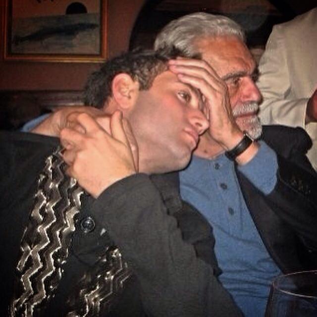 Omar Sharif Jr. con il nonno