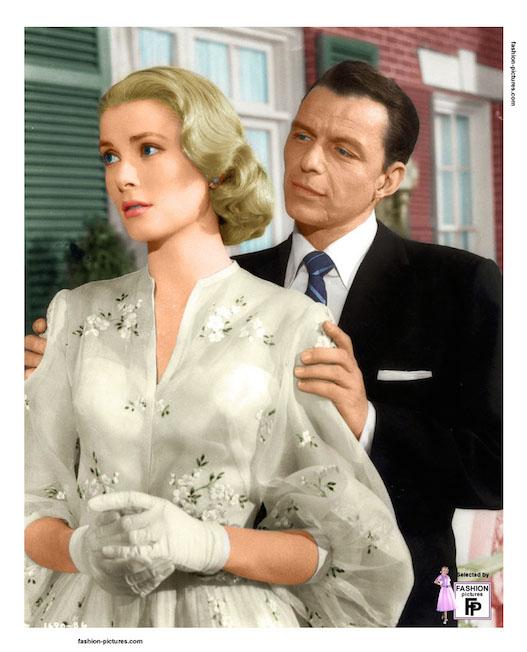 Grace Kelly e Frank Sinatra in 'Alta società'