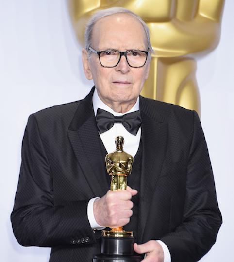 Ennio Morricone (foto dal sito degli Oscar)