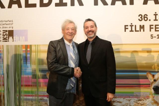 4 aprile: all'apertura dell'Istanbul Film Festival c'er anche Ian McKellen