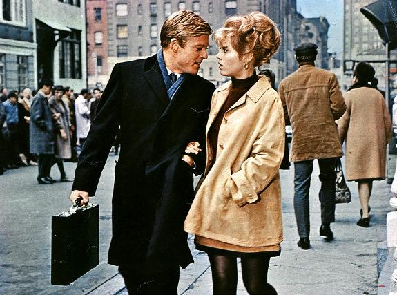 Jane Fonda e Robert Redford in 'A piedi nudi nel parc0'