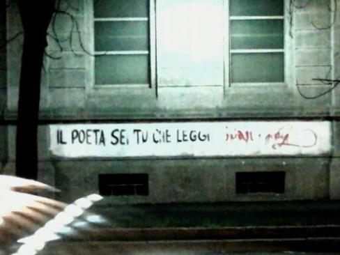Il poeta sei tu