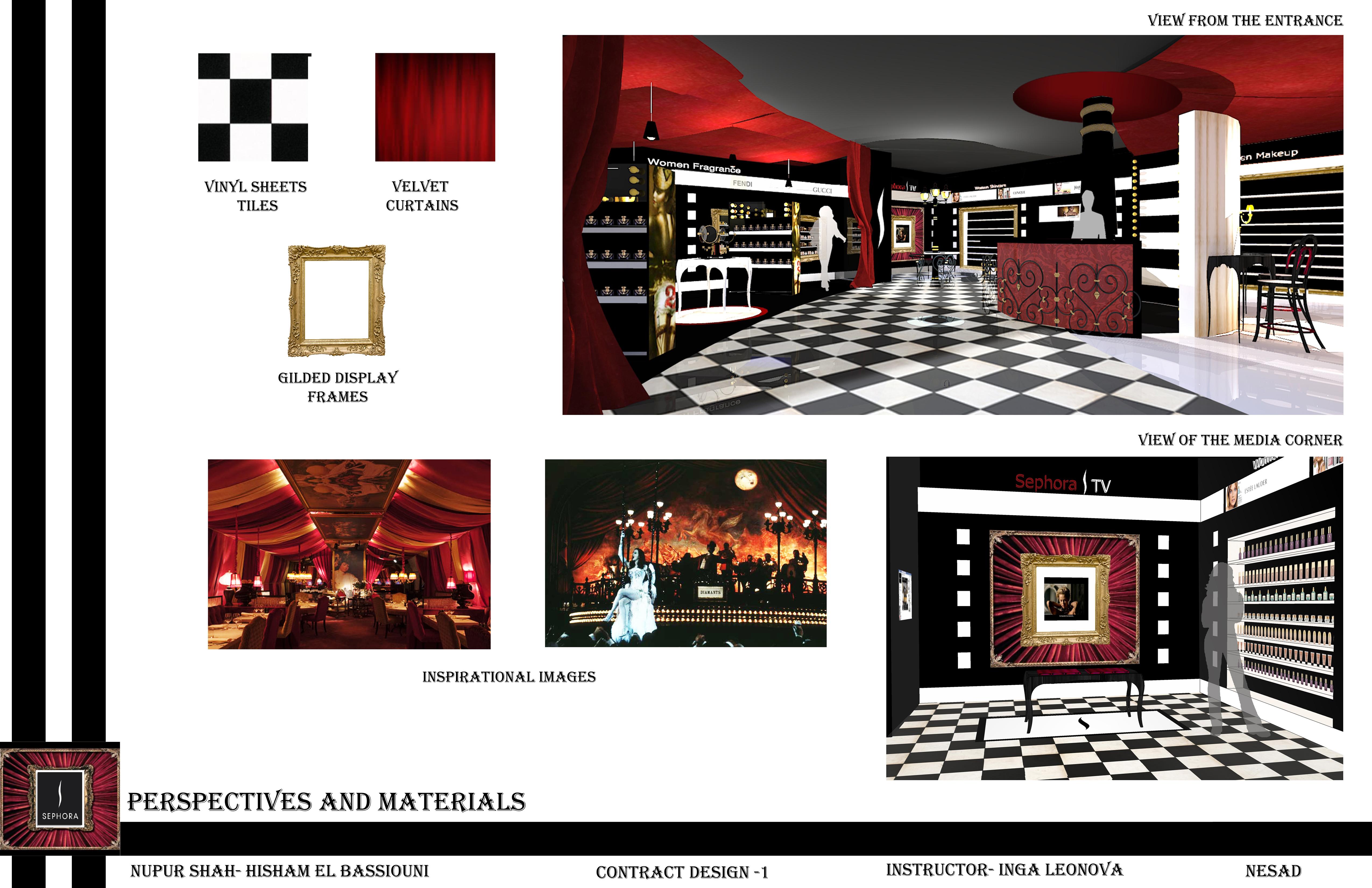 Sephora Pop Up Store Nupur Shah Interior Designer