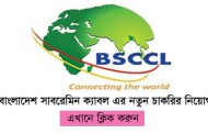 BSCCL Job circular বাংলাদেশ সাবমেরিন ক্যাবল কোম্পানি লিমিটেড এর চাকরির নিয়োগ প্রকাশ