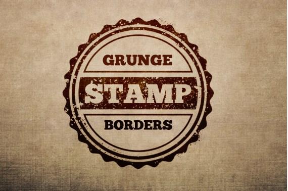 grunge stamp order