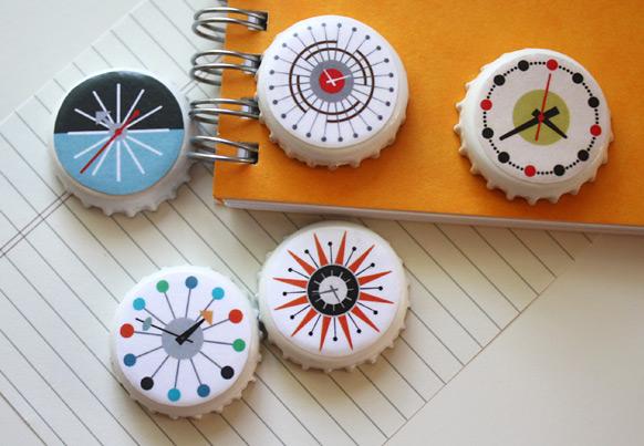 mid-century-modern-clocks-DIY