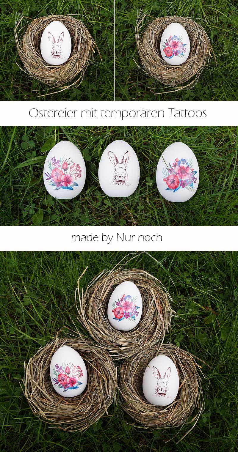 Tattoos auf Ostereiern by Nur noch