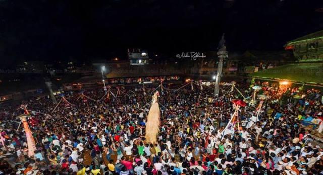 Gai Jatra(festival of cow)in Bhaktapur