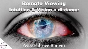 Intuition et vision a distance avec Fabrice Bonvin