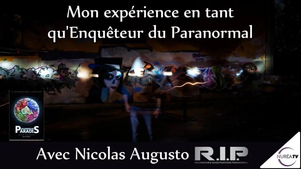 Nicolas Augusto enquêteur paranormal