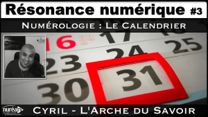 Numérologie, Le Calendrier avec Cyril