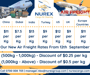 Air Freight Rates to Kenya