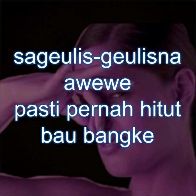 Kata Kata Bahasa Sunda Kasar