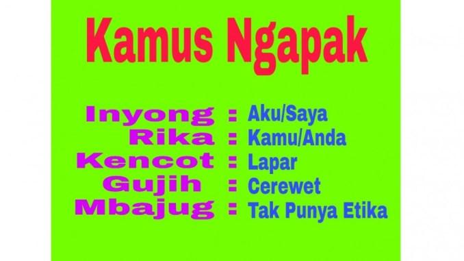 Gambar Kata Kata Bahasa Jawa Ngapak