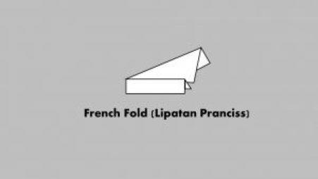 French Fold (Lipatan Pranciss)