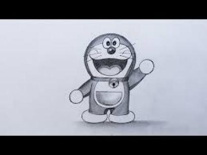 Sketsa Anime Doraemon Keren