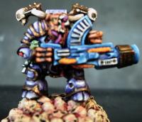 Nurgle Lord with a Kai Gun