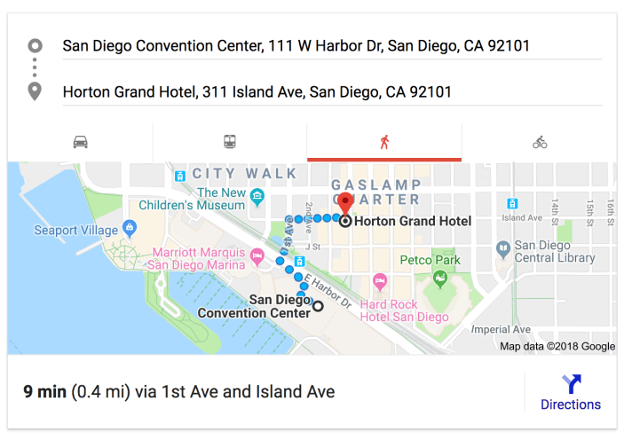 directions to GHHotel