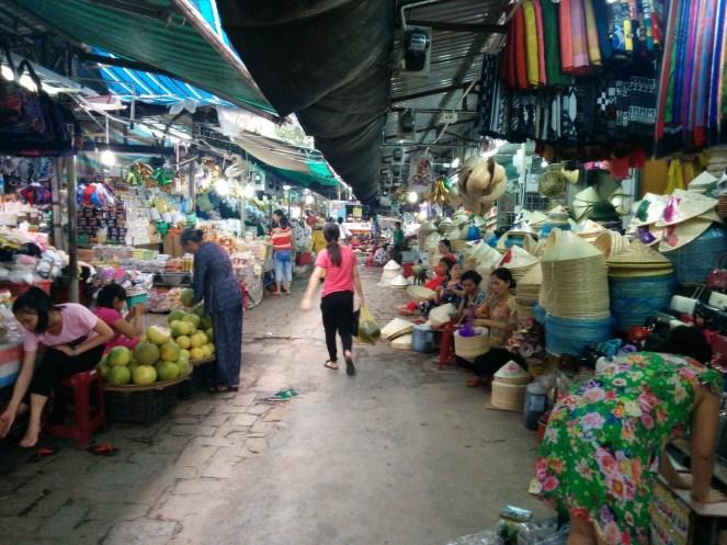 Hue mercado Dong Ba