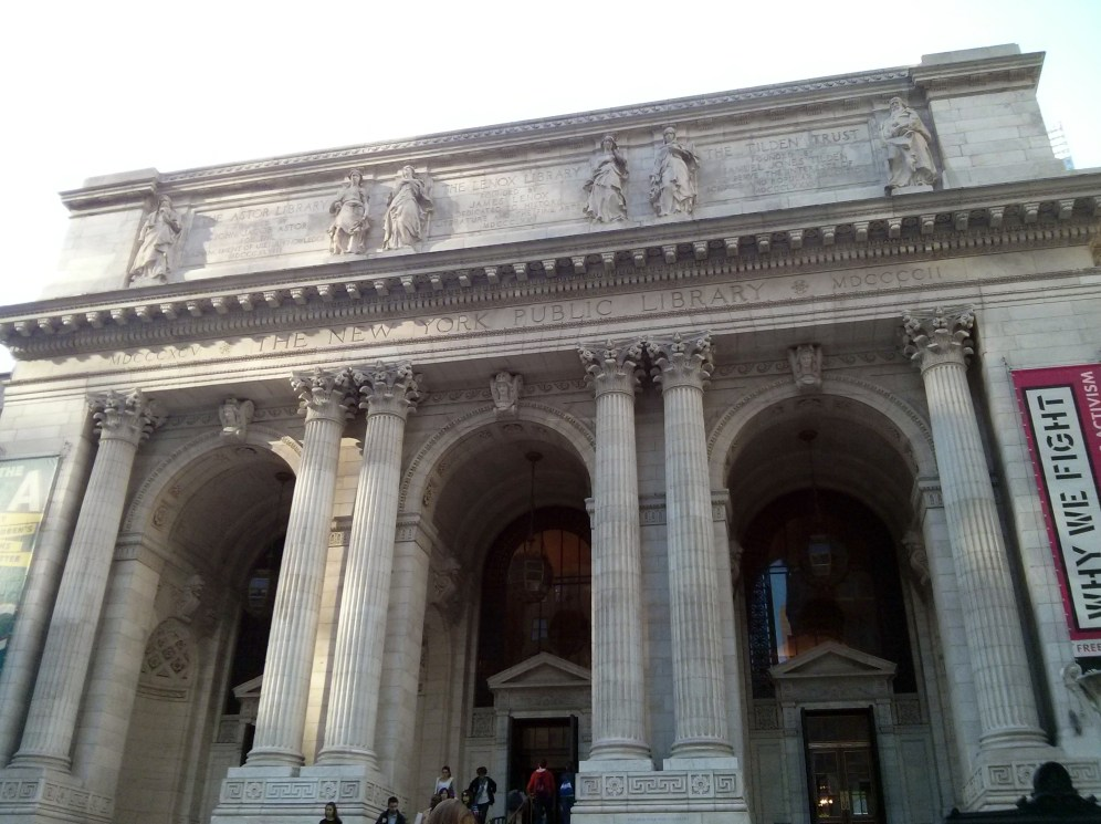 Public library New York