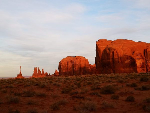 Atardecer en Monument Valley