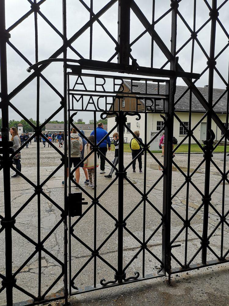Puerta entrada Dachau