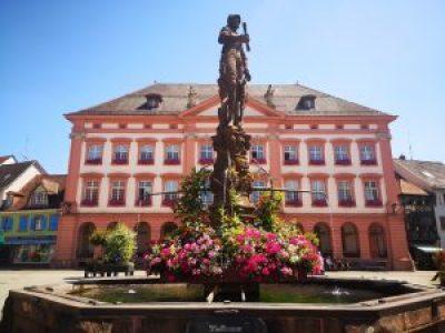 Marktplaz y Rathaus Gengenbach