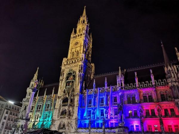 Ayuntamiento nuevo Munich