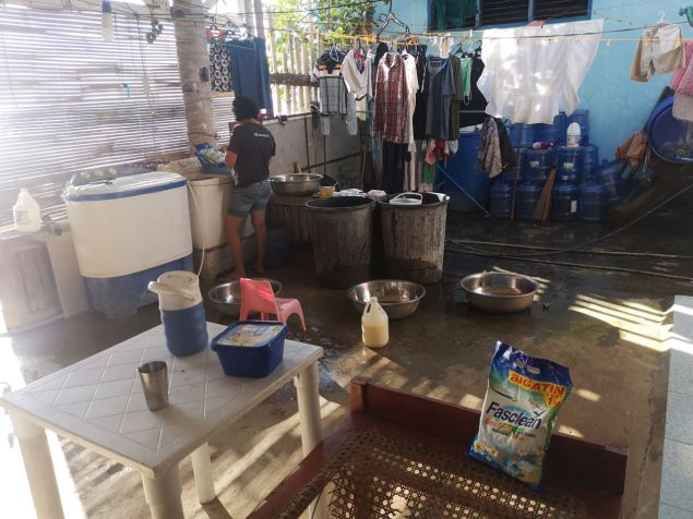 Lavar ropa Siquijor
