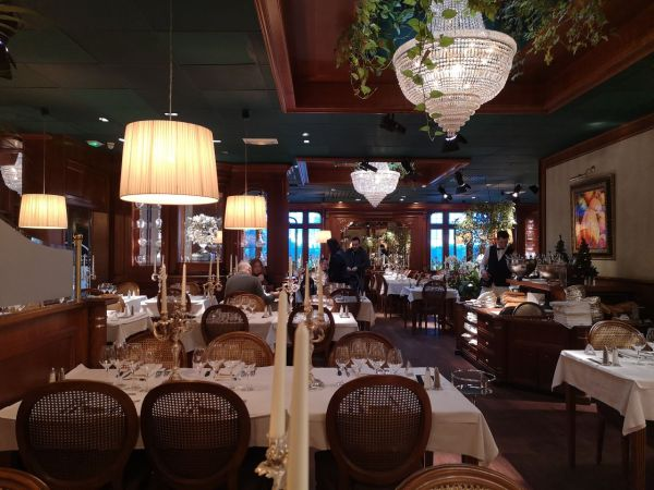 Salón de comida del buffet