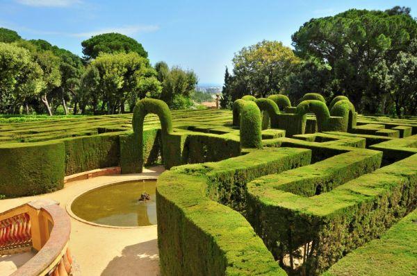 El parque del Laberinto de Horta