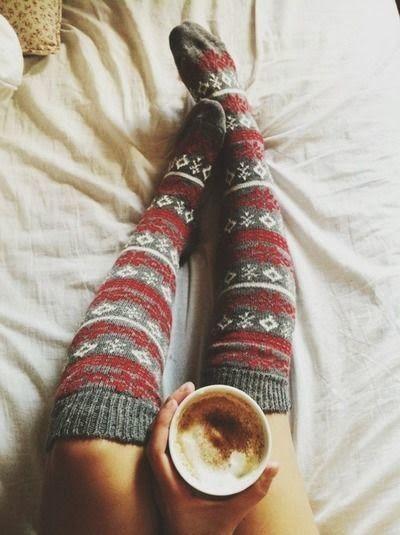 Calcetines navidad largos