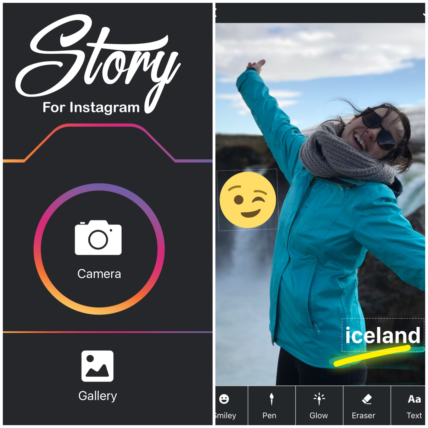 instagram stories app