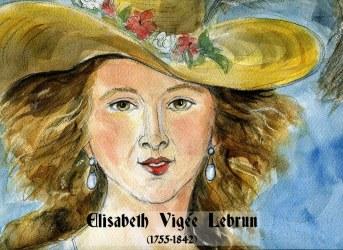 Elisabeth Vigée lebrun by Nuria Vives