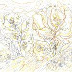 夢の中の花の塗り絵