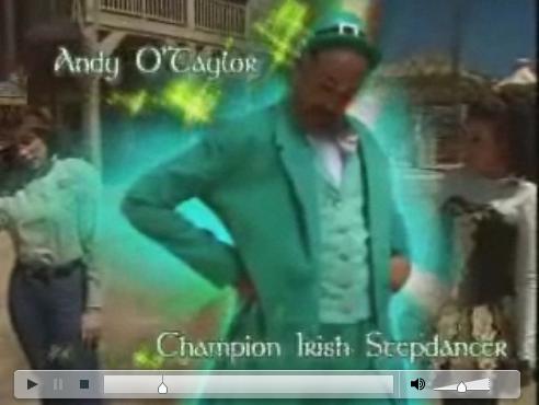 Andy O'Taylor, Champion Irish Stepdancer