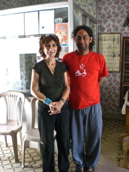 יוגי ואני, בהשרם על גדות הגאנגס, לקסמן ג׳ולה, רישיקש