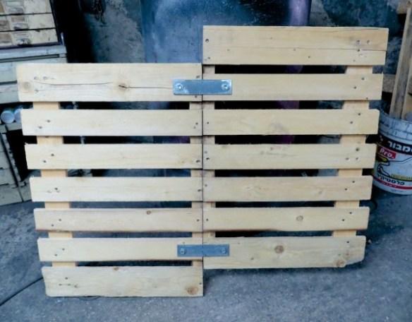 קשת 1, עץ ומתכת, בתהליך עבודה