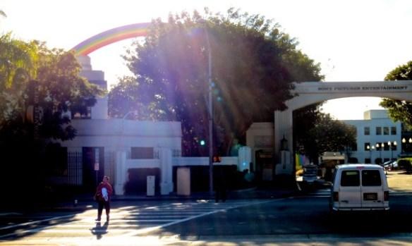 קשת של ״סוני״ Sony Pictures, LA. צלם: זוהר מנור-אבל