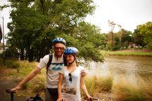 Radtour am Yarra River