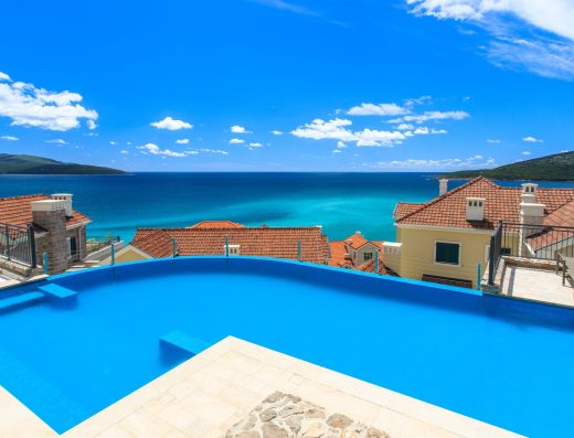 Luxury pool apartment Tivat