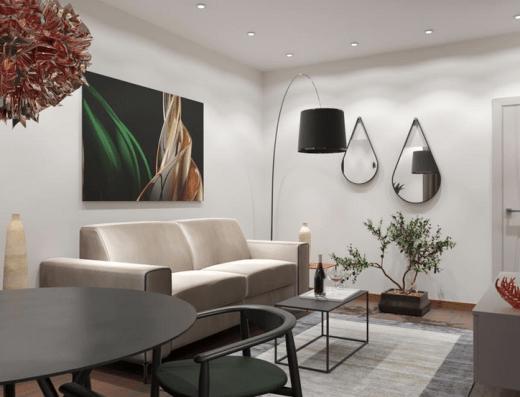living area modern becici