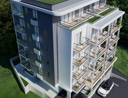 modern real estate sale budva