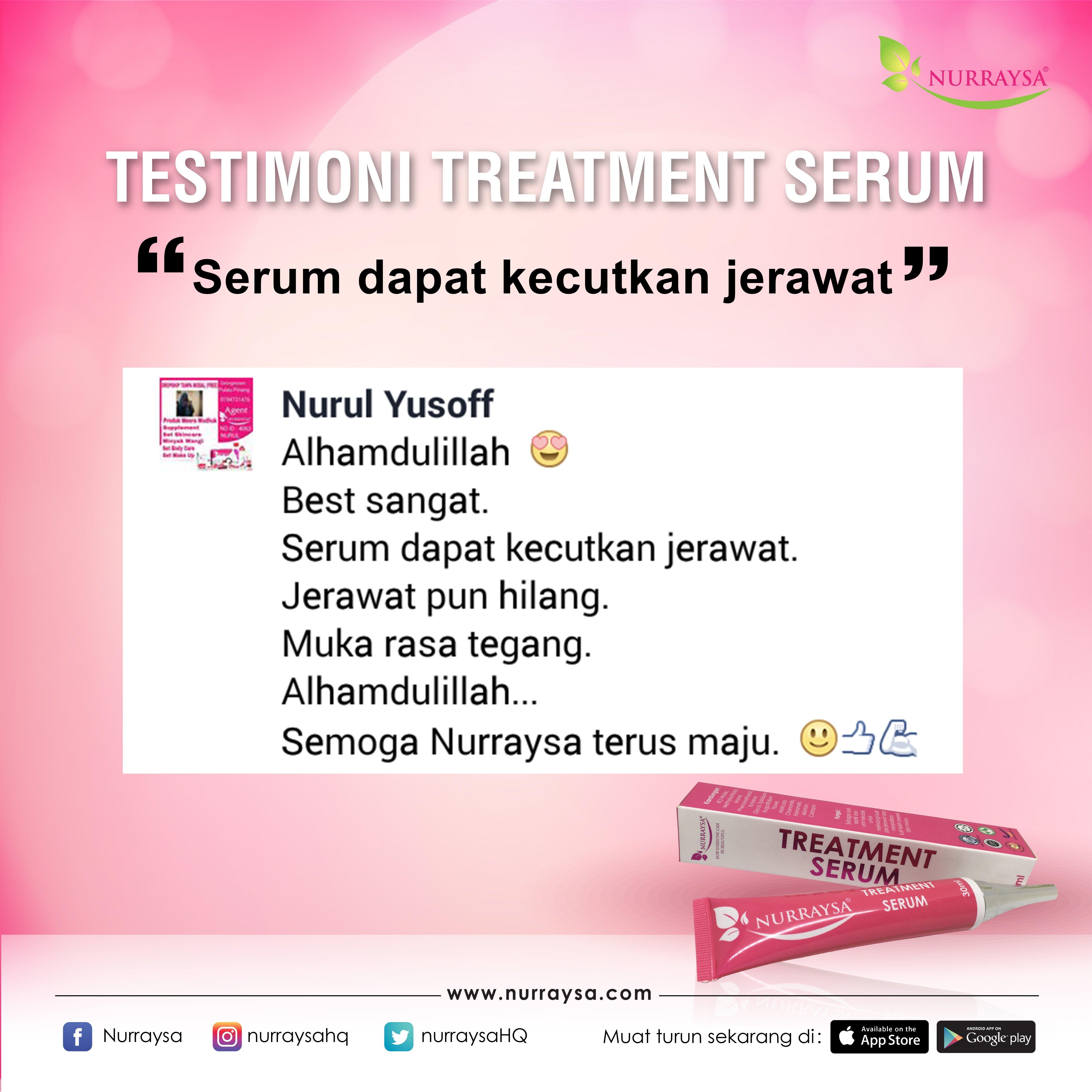 Testimoni Treatment Serum 10