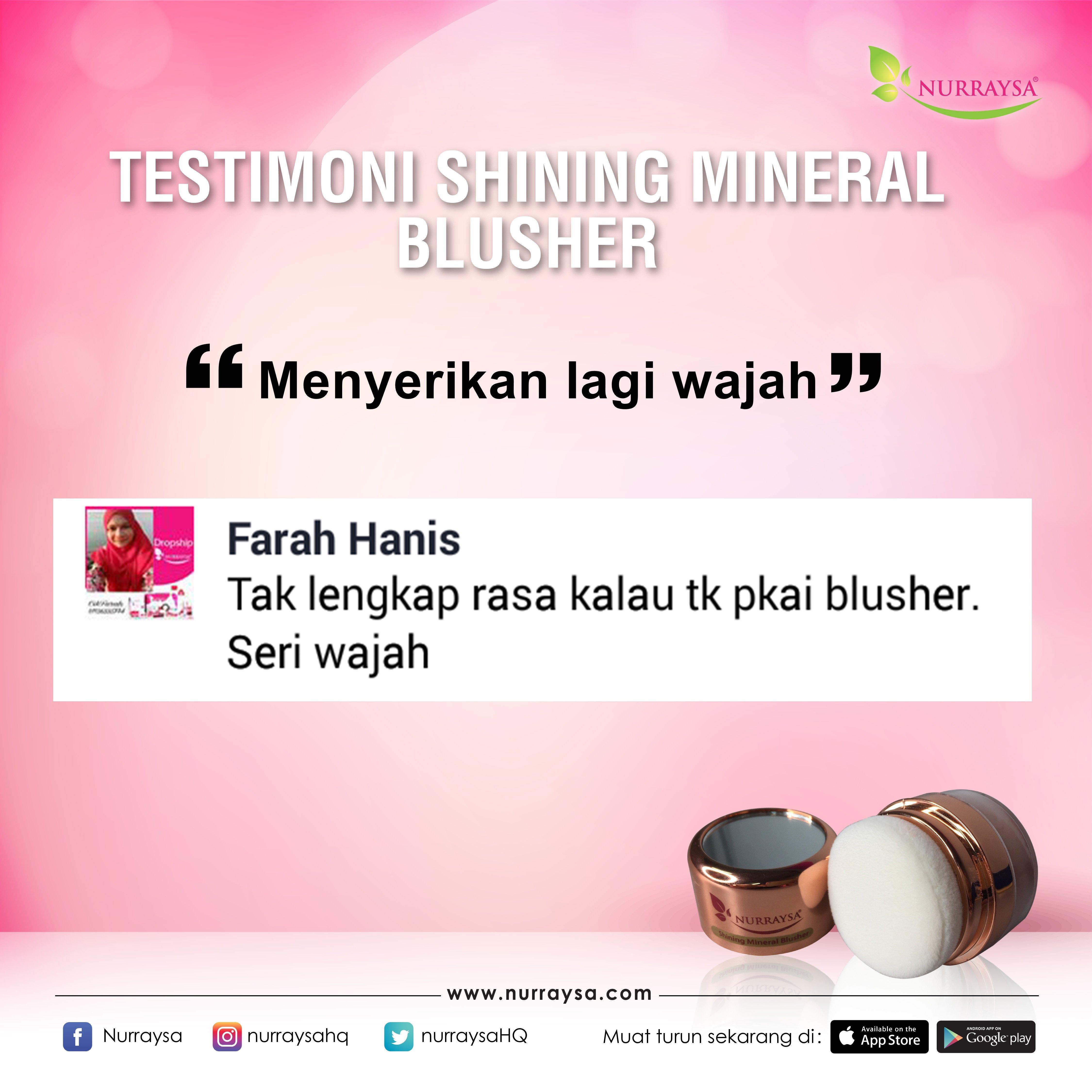 Testimoni Mineral Blusher 1